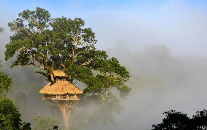 Природный заповедник находится за пределами города Хуай-Шай и является известной достопримечательностью Лаоса.