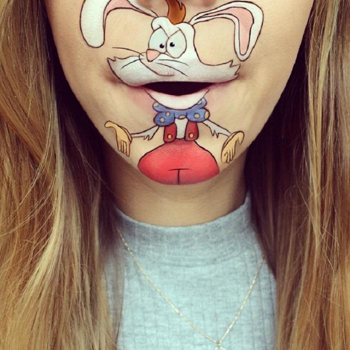 Мультяшный кролик, главный герой романов Гэри Вульфа.