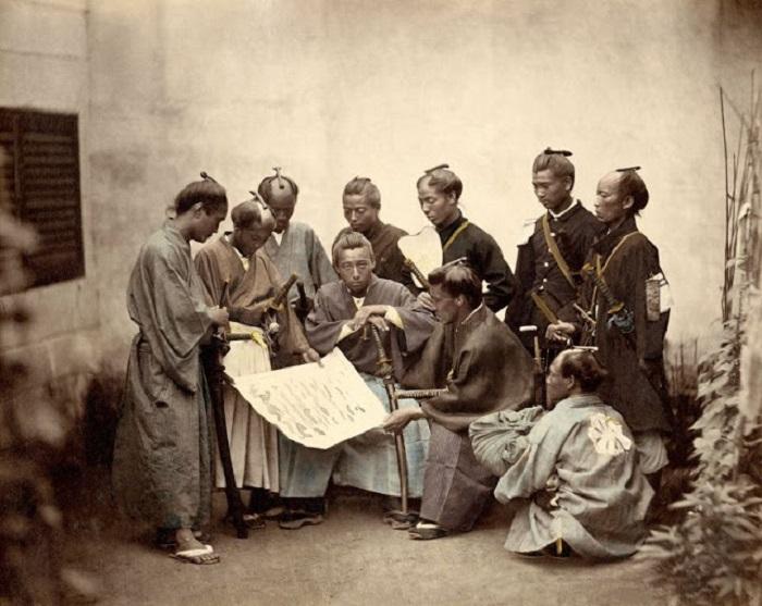 Самураи клана Сацума в период Войны Босин (1868—1869).