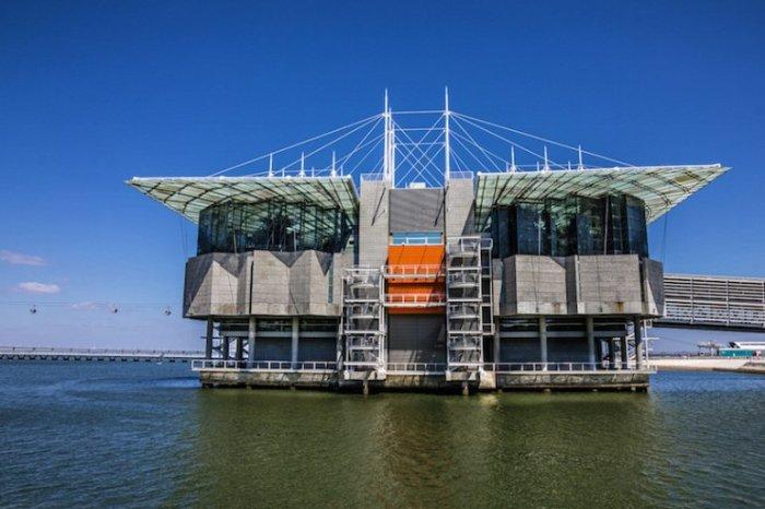 Аквариум расположен в Парке Наций на северо-востоке города и является крупнейшим в Европе.