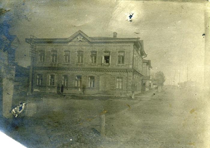 Здание ОГПУ в городе Ачинск.