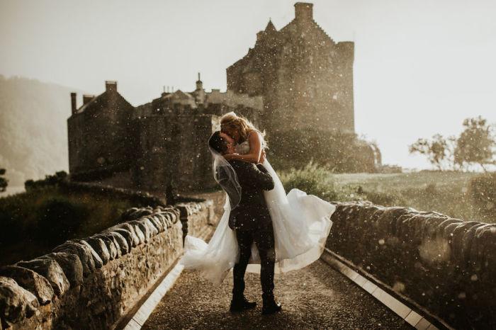 Романтика, любовь, нежные чувства просто летают в воздухе. Автор фотографии: (Colin Ross) Колин Росс.