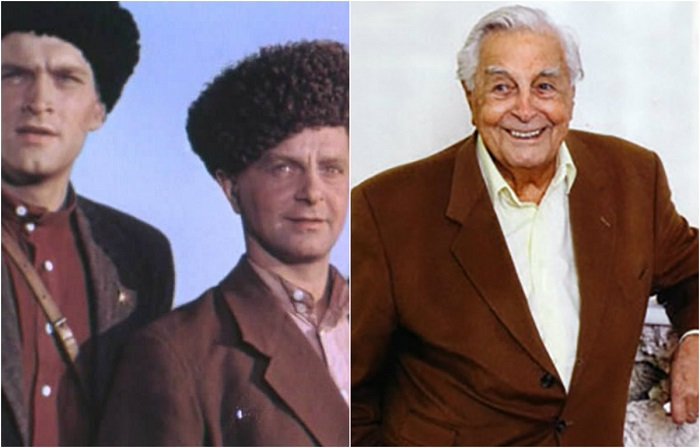 В культовой музыкальной комедия Ивана Пырьева «Кубанские казаки» актеру досталась роль простого парня Андрея.
