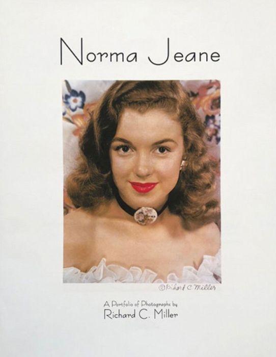 Снимок 19-летней брюнетки, которая впоследствии стала известна как Мэрилин Монро, сделанный фотографом Ричардом К. Миллером (Richard C. Miller).