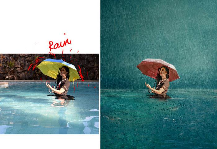 Используя окружающую обстановку и минимум реквизита Катрина Ю с помощью Photoshop создает впечатляющие фотографии.