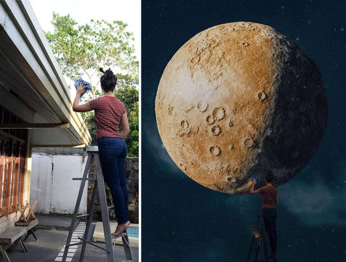 Пришло время стереть звездную пыль с лунных кратеров – та еще работа!