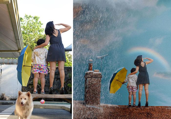 Вдохновляйтесь и не забывайте, что красочная радуга приходит только после дождя!