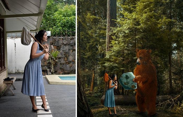 Волшебные фотоманипуляции цифровой художницы Катарины Ю.