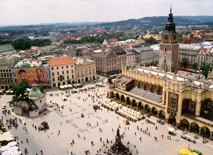 Старейшая и самая привлекательная площадь для туристов.