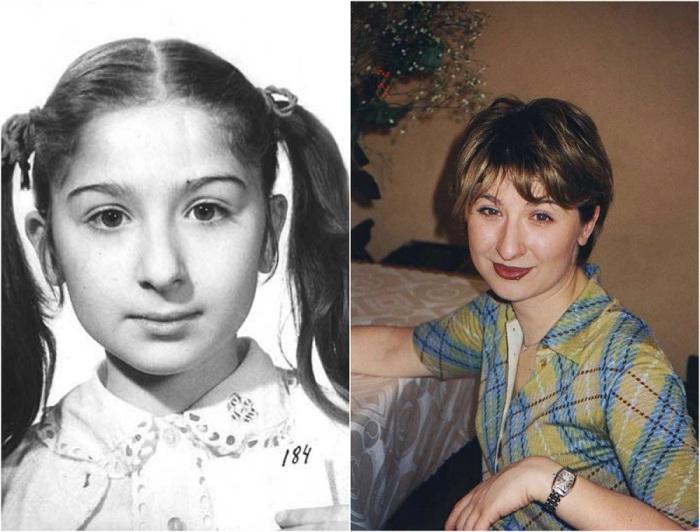 Советская актриса, известна по роли Юли Грибковой в фильме «Гостья из будущего».