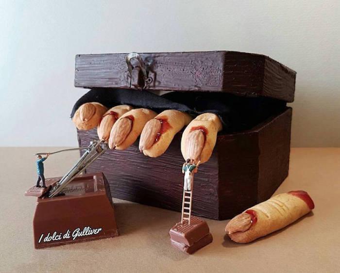 Десерт «Пальчики оближешь».