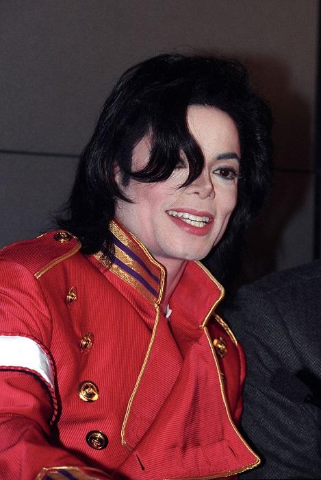 Майкл Джексон перед приездом в Москву.