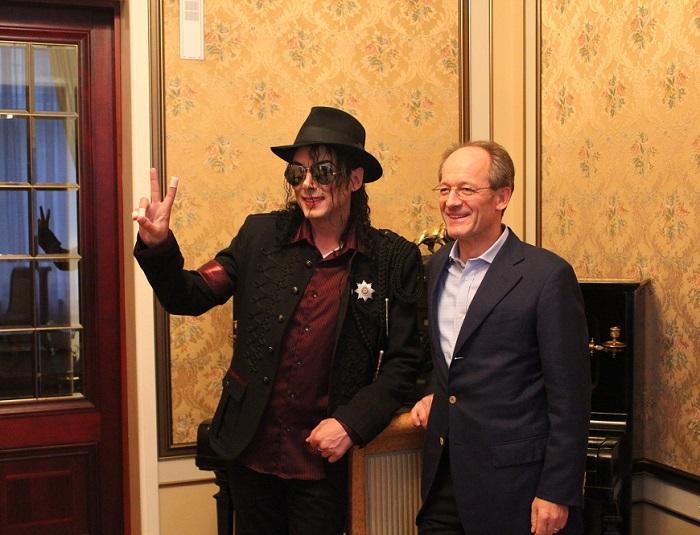 Майкл Джексон в Москве.