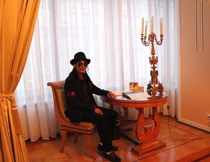 Апартаменты, в которых остановился Майкл Джексон.