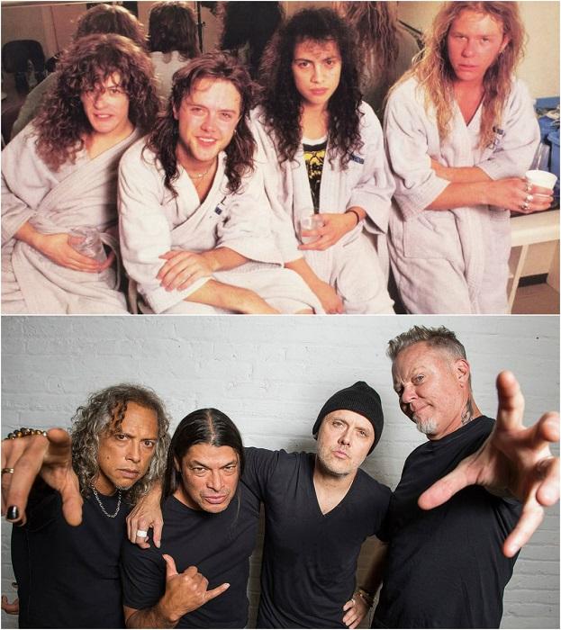 Одна из самых коммерчески успешных металлических групп образована в 1981 году гитаристом и вокалистом Джеймсом Хэтфилдом и барабанщиком Ларсом Ульрихом.