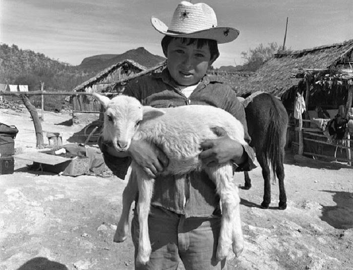 Повседневная жизнь мексиканцев, снятых американским фотографом и историком Гарри Кросби.