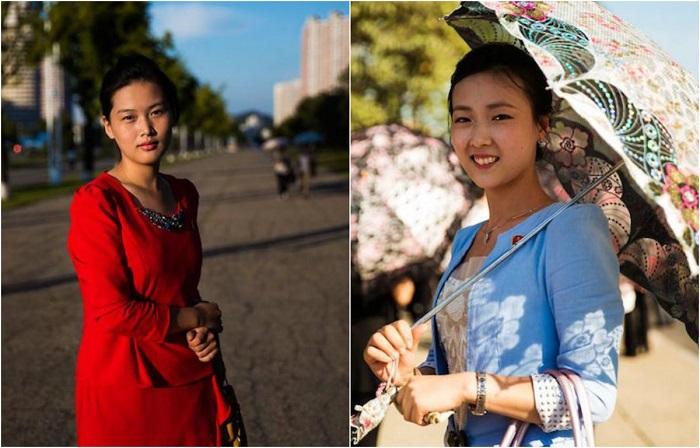 Портреты девушек в их обычной среде, где каждая по-своему прекрасна.