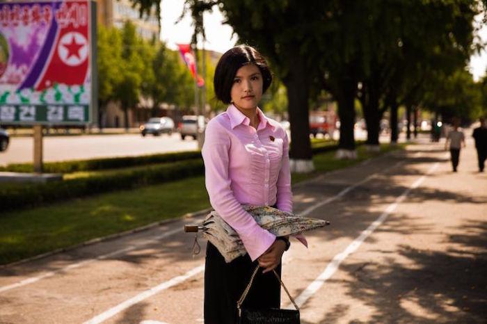 Студентка из Пхеньяна.