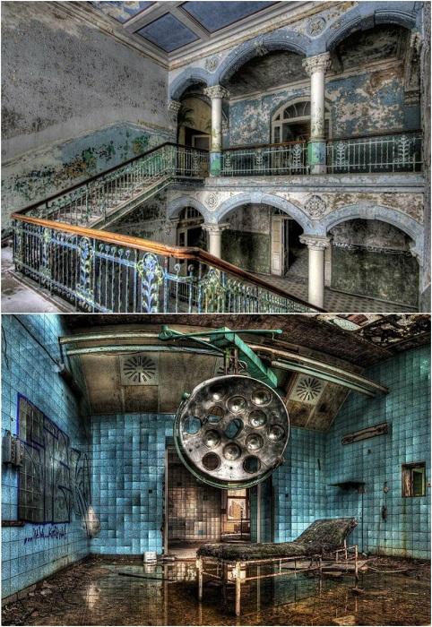 С 1995 года здание госпиталя стоит заброшенным, и постепенно разрушается.