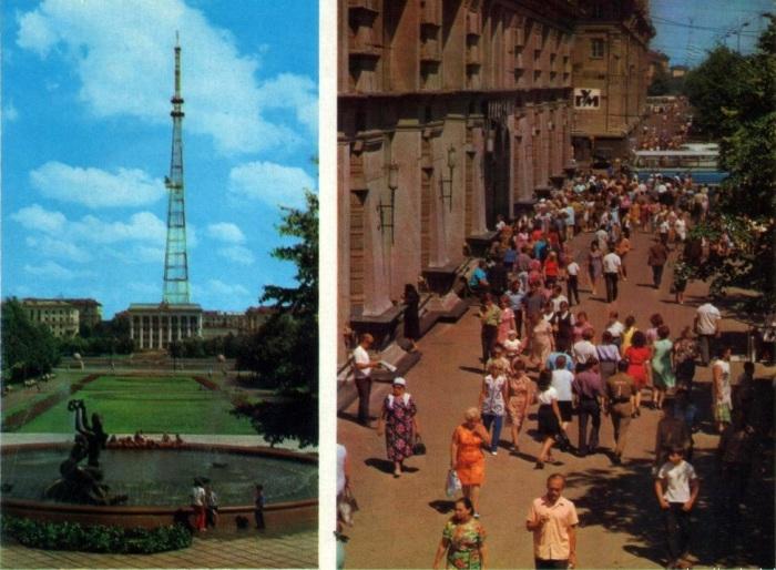 Минская телебашня будет второй в СССР по величине после Останкинской и четвертой в мире.