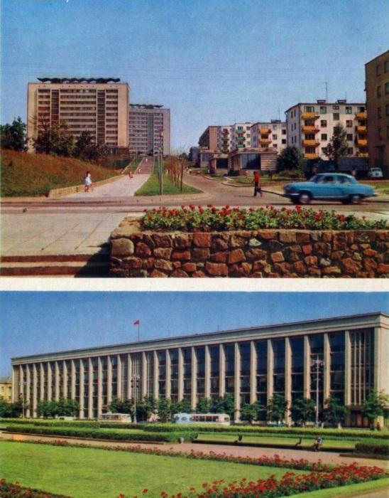 Административные районы Минска.