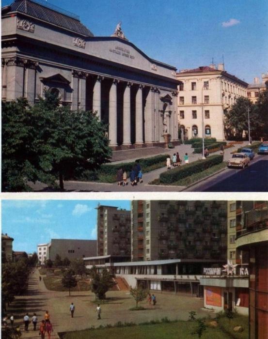 Один из значительных музеев Советского Союза.