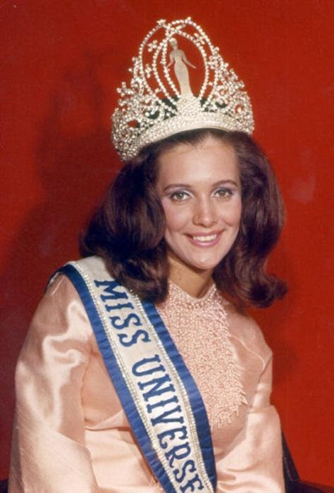 Мисс Бразилия и победительница конкурса «Мисс Вселенная 1968».