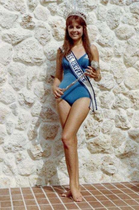 Победительница конкурса «Мисс Вселенная 1970».