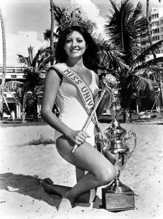 Победительница конкурса «Мисс Вселенная 1971».