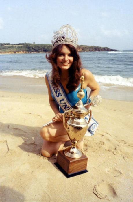 Победительница конкурса «Мисс Вселенная 1972».