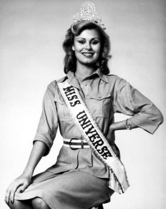 Вторая победительница конкурса «Мисс Вселенная 1975» из Финляндии.