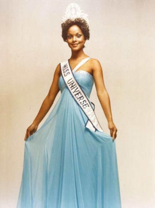 Победительница конкурса «Мисс Вселенная 1977».
