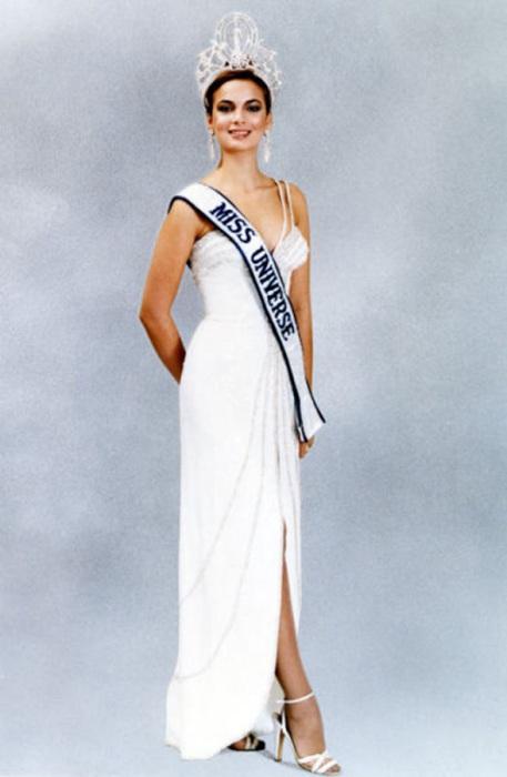 Победительница конкурса «Мисс Вселенная 1979».