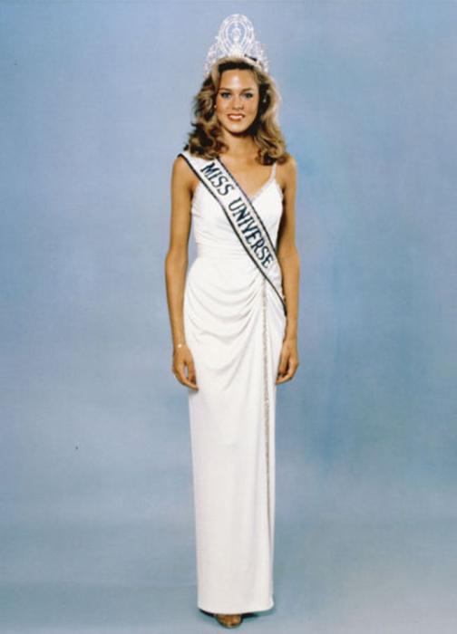Самая красивая победительница конкурса «Мисс Вселенная 1980».