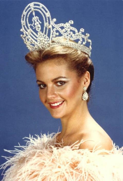 Венесуэльский политик и бывшая победительница конкурса «Мисс Вселенная 1981».