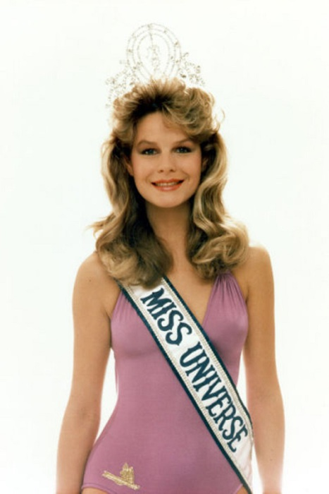 Самая красивая победительница конкурса «Мисс Вселенная 1983».