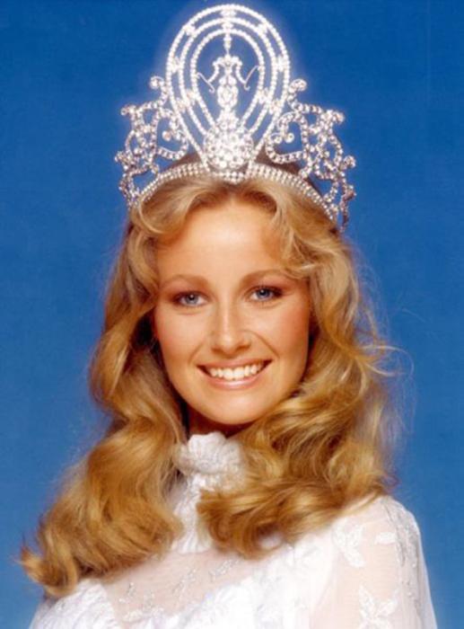 Самая красивая победительница конкурса «Мисс Вселенная 1984».