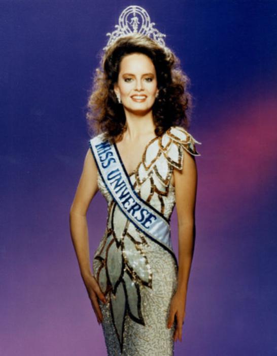 Самая красивая победительница конкурса «Мисс Вселенная 1987».