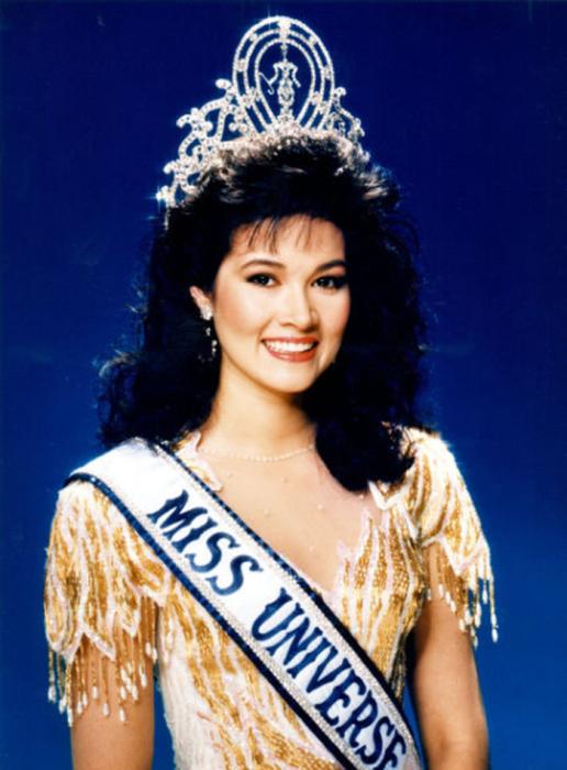 Самая прекрасная победительница конкурса «Мисс Вселенная 1988».