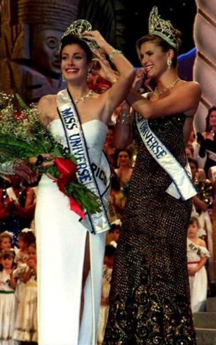 Пуэрто-риканская актриса, фотомодель и победительница конкурса «Мисс Вселенная 1993».