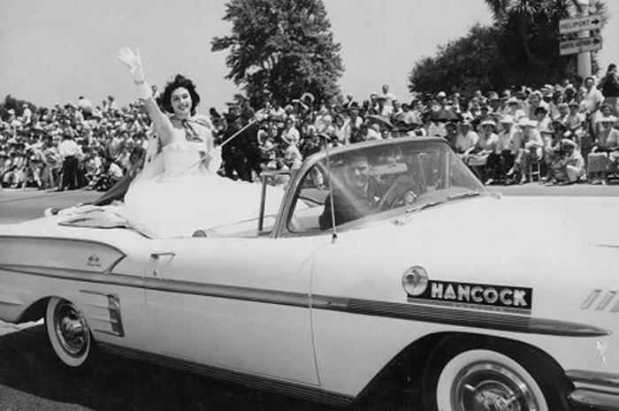Королева красоты из Перу, победительница конкурса «Мисс Вселенная 1957».