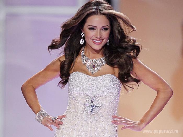 Победительница конкурса «Мисс Вселенная 2012».