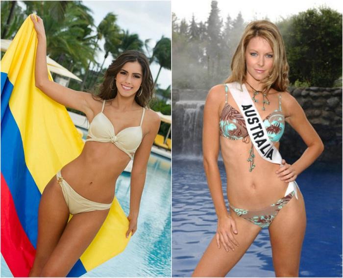 Победительницы самого престижного международного конкурса красоты «Мисс Вселенная».