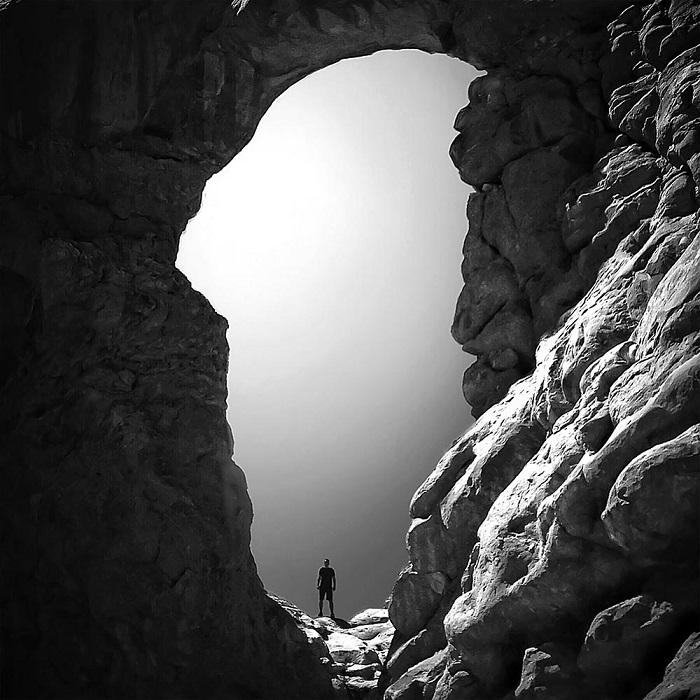 В одном из каньонов... Фотограф Nazaret Sanchez Rodriguez.