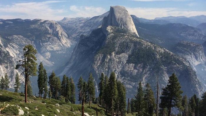 Гранитный купол в национальном парке Йосемити, США. Фотограф Карен Грабб.
