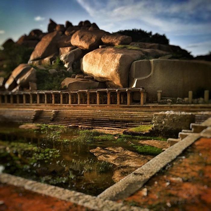 Деревня на севере индийского штата Карнатака. Фотограф Анбу Джавахар Ра из Карнатаки.