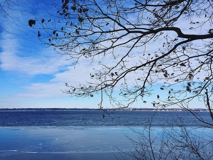 Зима вступает в свои права. Фотограф Иланг Пенг из Висконсина.
