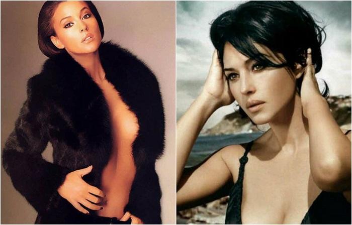 Жгучая итальянская красавица Моника Беллуччи.