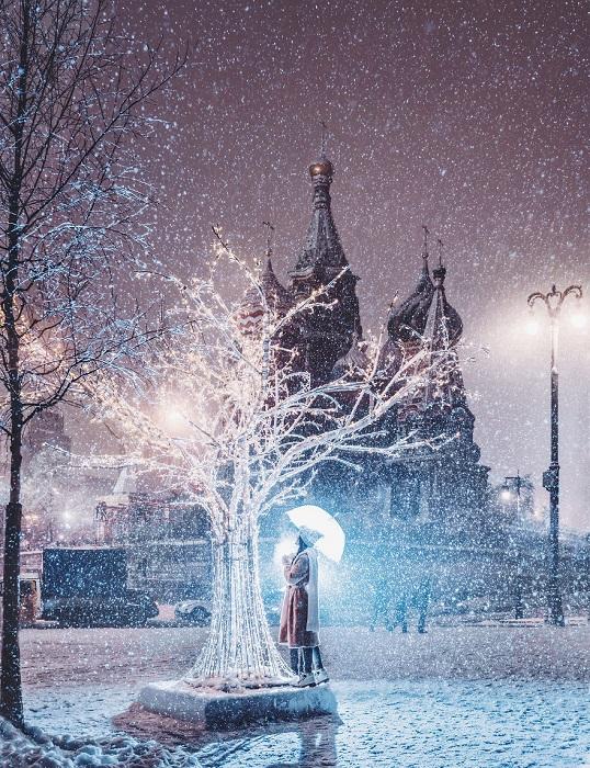 Деревья в снежном убранстве всегда завораживают своей красотой.