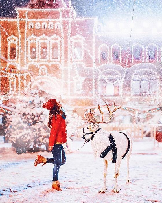 Зима - это волшебство, это сказка, в которой мы - главные герои.